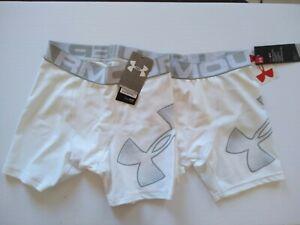 Under Armour Boy lot 2 HeatGear UnderShorts Underwear Boxer Briefs youth Medium