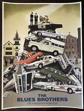 The Blues Brothers movie poster art John Belushi Dan Akroyd Chicago sdcc mondo