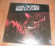 "FRANK ZAPPA & THE MOTHERS Orig 1974 ""Roxy & Elsewhere"" 2-LP SEALED VG++"