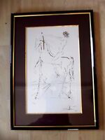 The Song of Songs of Salvador Dali, Original Engraving N° 198 .