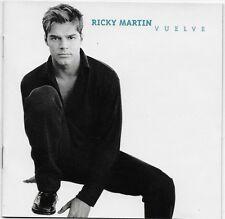 Vuelve by Ricky Martin CD 1998 Sony Music Distribution USA