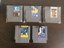 Nintendo NES 8 Bit Lotto 5 Giochi PAl A