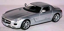 Mercedes Benz SLS AMG C197 Coupe 2009-15 - 1:43 Silver Silver Metallic
