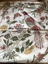 POTTERY BARN  PHEASANT  BIRD PILLOW COVER   20 X 20""