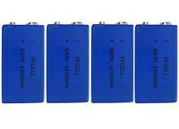 4 x ER9V Block(1200mAh)Lithium Langzeitbatterie Rauchmelder(4 Batterien)Eunicell
