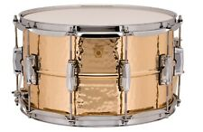 LUDWIG SUPRAPHONIC BRONZE HAMMERED SNARE DRUM 6.5x14 LB552K ***FREE SHIPPING***