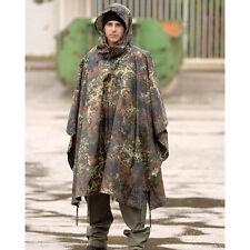 BW REGENPONCHO FLECKTARN RIPSTOP Poncho Army Nässeschutz BUNDESWEHR Regenschutz