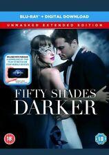 Fifty Shades Darker Unmasked Edition Blu-Ray +(Digital Download) Sealed