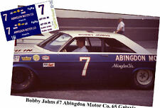 CD_1762 #7 Bobby Johns   1965 Ford Galaxie    1:43 Scale Decals