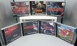 box repro resident evil 1 2 3 tombi metal gear sony ps1 play station NO GIOCO