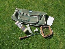 Vintage Carlton 3.9 Badminton Raquette volants réception & MITRE Kit sac