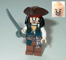 PIRATES OF THE CARIBBEAN #01 Lego Captain Jack Sparrow NEW Genuine Lego 30133