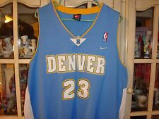 Denver Nuggets Jersey Fully Stitched Camby # 23 XXL