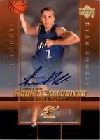 2003-04 Upper Deck Rookie Exclusives Autographs #A29 Steve Blake Auto - NM-MT