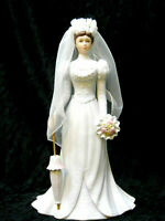 """Home Interior's Gifts #88015-99 """"Abigail Rose"""" Masterpiece Porcelain Bride 9.5""""T"""