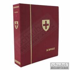 Schaubek L-80101N Album Schweiz 1843-1944 Standard im Ganzleinen-Schraubbinder r