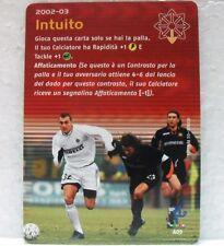 FOOTBALL CHAMPIONS Italiano 2002-03 - INTUITO - carta azione A05-CRISTIAN VIERI
