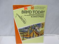 Band Today Contemporary Band Bb Tenor Sax Pt Three Cbc00198 Softcover Book
