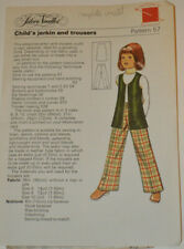 sewing pattern childs waistcoat and trousers
