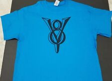 NEW VINTAGE V8 LOGO T-SHIRT script ford chevy plymouth pontiac emblem nos conv@@
