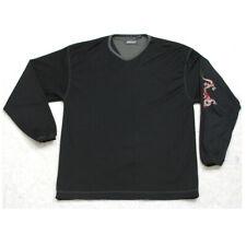 Point Zero Tee T-Shirt Black V-Neck Polyester Medium Long Sleeve Dragon Graphic