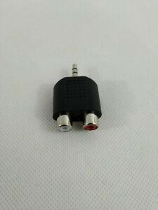 3.5 mm splitter adaptateur diviseur jack audio prise male vers 2 double femelle