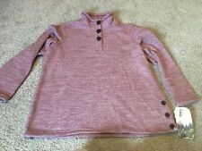 Avalanche Xxl Womens Mauve Campfire Pullover New With Tags