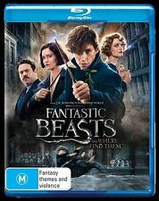 Fantastic Beasts And Where To Find Them (Blu-ray) Adventure, Fantasy, Family