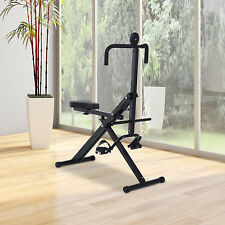 Whole Body Crunch Coaster Rider Riding Machine Ab Train Fitness Equipment
