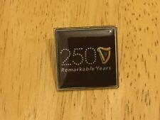 New GUINNESS 250 Year Anniversary Logo Metal LAPEL PIN BADGE Irish Stout Ireland