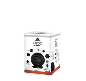 Portable Black Space Heater Glaziar H25C 3 Speeds 1500w - 25m2 Room - 18dB