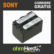Batteria Alta Qualità SOSTITUISCE Sony NPQM71D, NP-QM71D