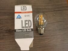 NEW Aamsco LED G 14 Ferrowatt Hybrid Glass Bulb 25,000 hour lifespan Free Ship
