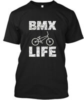 Bmx For Jersey Lovers - Life Hanes Tagless Tee T-Shirt