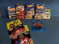 11 ea Vintage Hot Wheels Matchbox ERTL Carded Die Cast Cars Mixed Lot - NICE