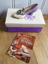 Just The Right Shoe Jeweled Heel Pump (25011) by Raine, V.G.C. Boxed.
