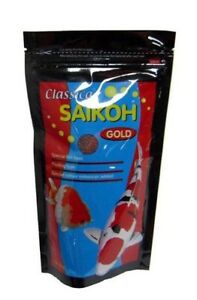 Classica SAIKOH Gold Special Fish Food for Pond Fish Small Pellet 500g