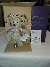 New - Annette Funicello Collectible Bears - Jessica High Tea Collection Coa