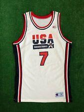 1992 Larry Bird Team USA Dream Team Authentic Pro Cut Champion Jersey Size 46 +3