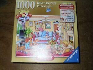 PUZZLE HUMORISTIQUE 1000 pièces, complet : LES BRICOLEURS