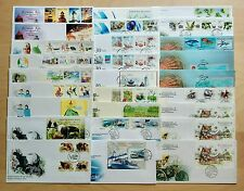 Malaysia Complete Yearly Set of 27 FDC issued in 2004 (a nice collection lot)