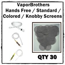 30 - VaporBrothers Hands Free / Standard / Colored / Knobby Screens STAINLESS