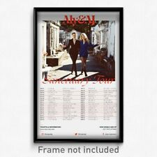 Aly and AJ - Live 11x17 Print Band Gig Tour Poster