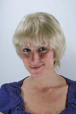 Perruque de cheveux courts blond fransig coquines toupiertes 25 cm 26062-22tt26
