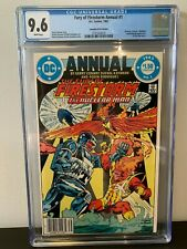 Fury of Firestorm Annual #1 CGC 9.6 NM+ Canadian Price Variant