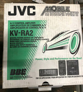 JVC KV-RA2  A/v Controller Amplifier,RARE  Old School (new)