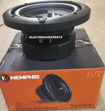 """Memphis 15-PRX6D2 6.5"""" DVC Dual 2-Ohm Subwoofer 6.5 INCH Woofer NEW PRX6D2 6W3V3"""
