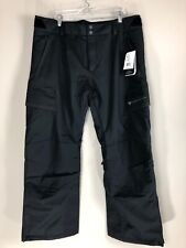 NWT Obermeyer Orion Black Water Repellent Snow Ski Pants Men's Size XL