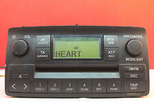 TOYOTA COROLLA W58802 CD RADIO PLAYER STEREO DECODED 2002 2003 2004 2005 2006