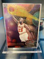 1997-98 Skybox Metal Universe MICHAEL JORDAN #23 HOF Chicago Bulls FS